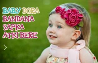 Baby Dora Saç Bandı Modelleri
