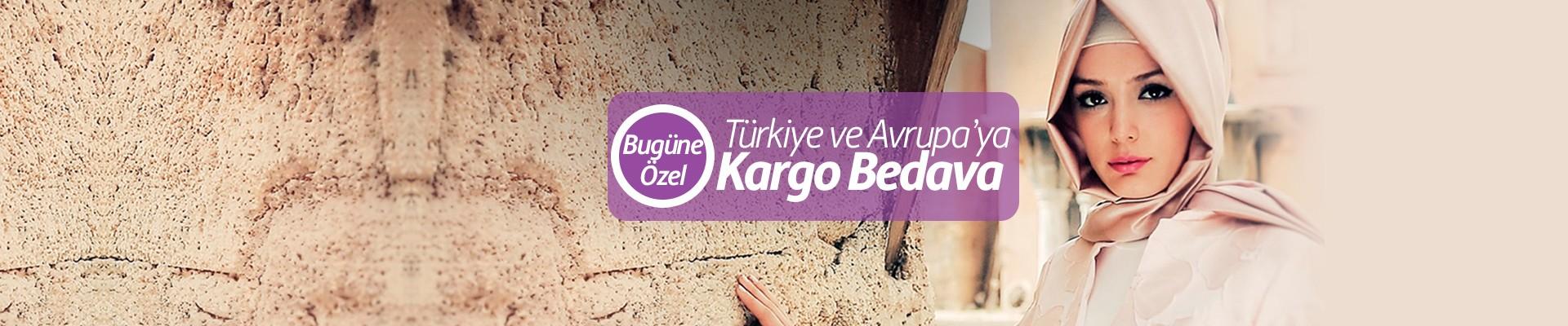 Türkiye ve Avrupa'ya Kargo Bedava