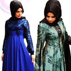 Hıjab Evening Dress Models
