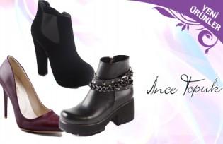 İnce Topuk Ayakkabı Modelleri