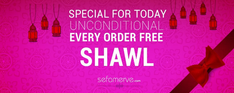 Shawl Gift for Every Order