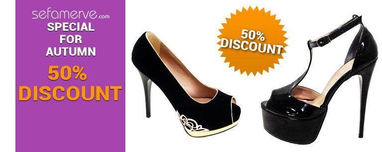 Ilgi Hazal Shoe 50 % Discount