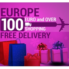 Free Shipping for Europe over 100 €