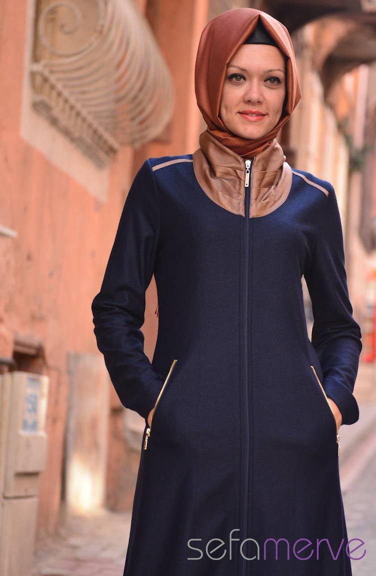 تزیین مانتو ساده مدل لباس - مدل مانتو شیك 2014