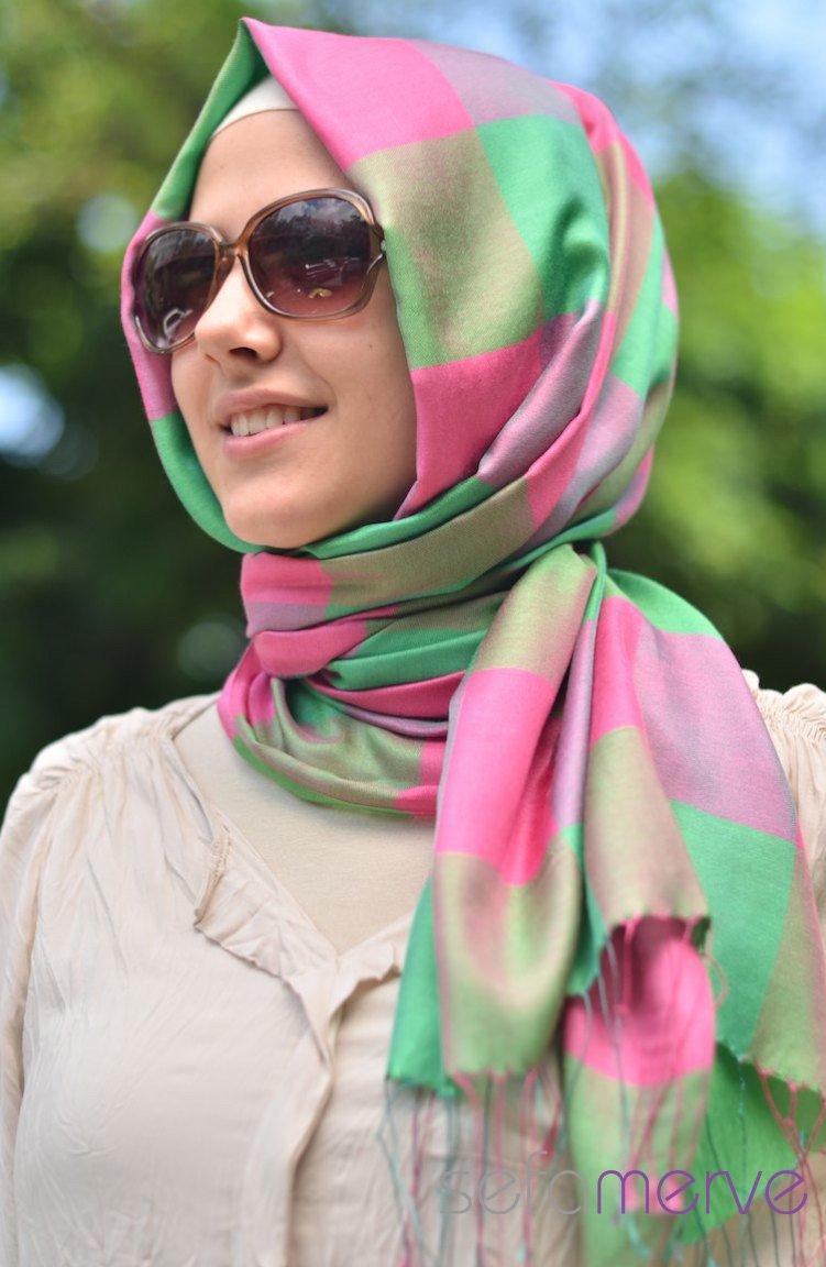 لفات حجاب للمتالقات sefamerve_yakut_sal_