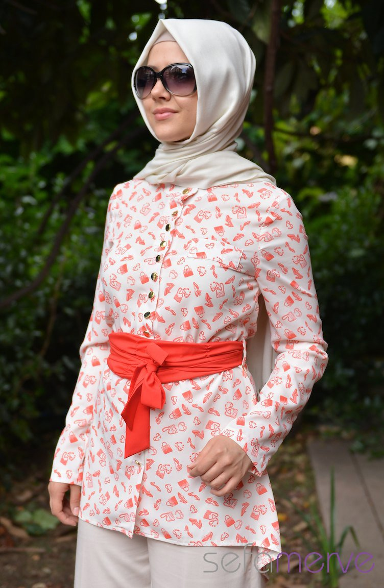 Hijab fashion the colors of spring and summer of 2014 Summer hijab fashion style ideas